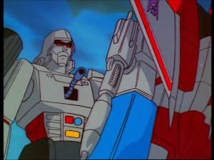 Megatron's Telepathic Chest Snake