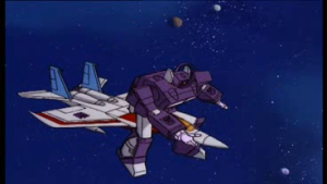63 Shockwave Rides Starscream